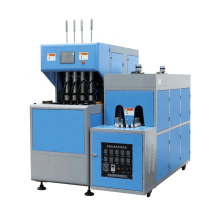 Taizhou Huangyan 4-cavity semi-automatic blow moulding machine plastic mineral water detergent oil bottle blowing machine