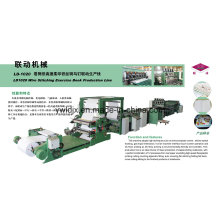 High Speed Flexo Printing Wire Stitching Fully Auto Exercise Book Making Machine Ld1020