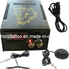 Nova Black LCD Digital tatuagem máquina de alimentação (HB1005-39)