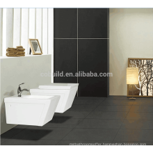 Made in China bathroom p-trap ceramic round wall hung toilet / portable toilet