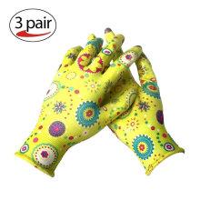 High Quality 13 Gauge Nitrile Dipped Safety Gloves Garden Work Hand Gloves