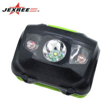 3xaaa battery multi function led white emitting color headlamp