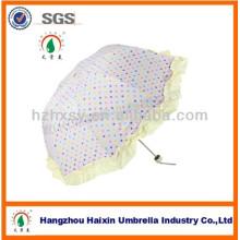 Nouveaux produits trois mignons pli forme spéciale, parapluie