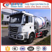 SHACMAN 6x4 camião betoneira, 8 cbm camião betoneira IN NEW DESIGN