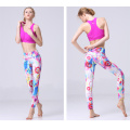 Sexiga flickor tights sport fitness slimming leggings för kvinnor