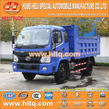 FOTON 4x2 5tons loading capacity tipper truck with high quality and hot sale in China