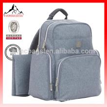 cuidados com a mãe e produtos para bebés, saco de fraldas mochila cinza-HCDP0045