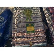 100% cotton africa wax fabric