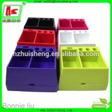 Красочный пластиковый футляр для карандашей для школы и офиса