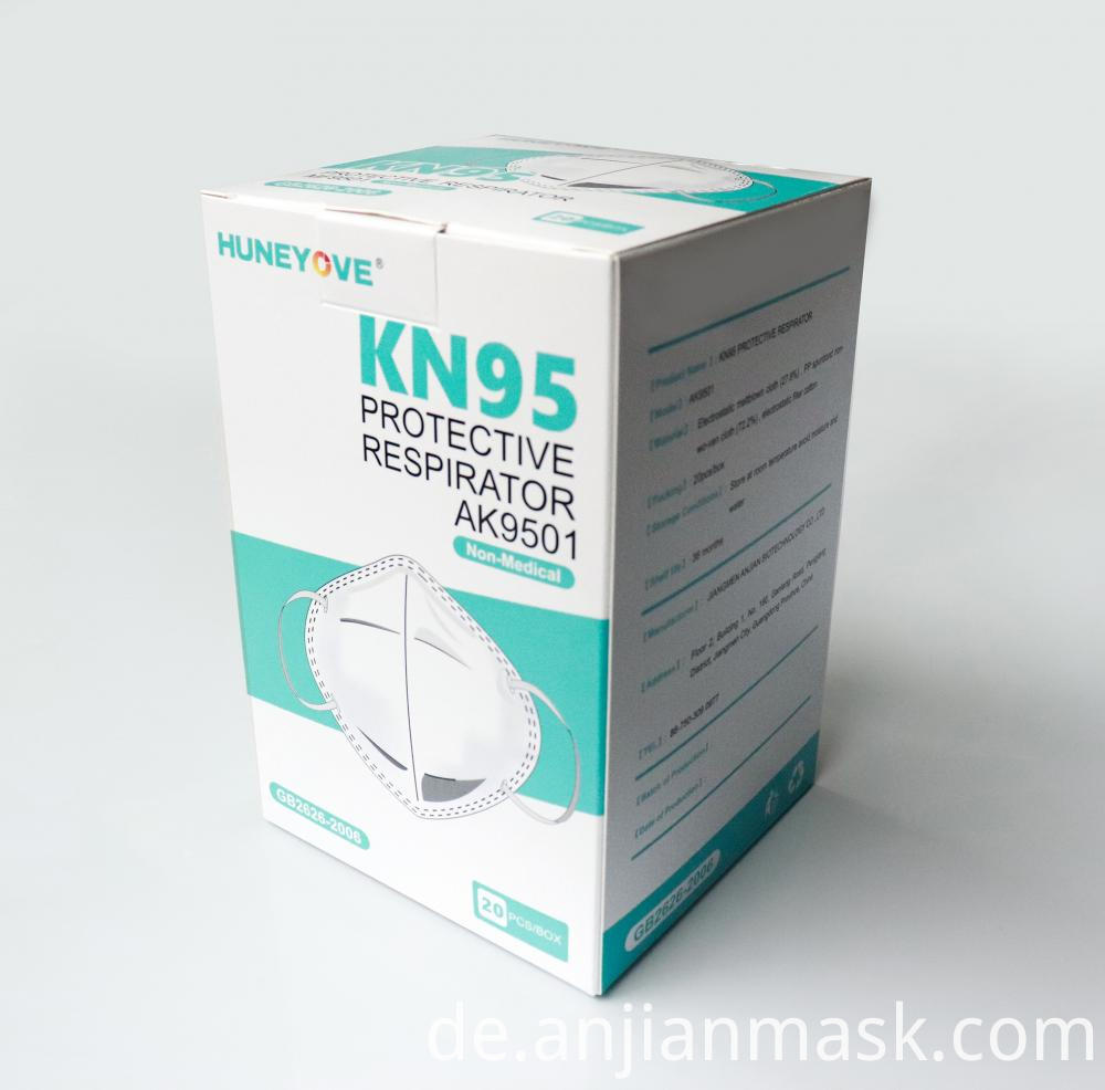 Nonwoven Dust KN95 Face Mask