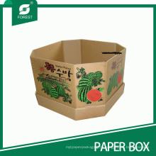 Сильная сверхмощная рифленая Коробка упаковки коробки для Арбузов