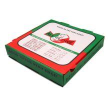 Бумажная коробка - коробка для пиццы для еды и ресторана
