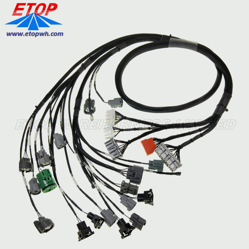 Custom Auto Wire Harness Assemblies
