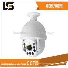 aluminum die casting industry product dome camera housing camera cover