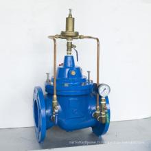 Vanité de maintien de la pression du fournisseur d'eau et de lutte contre l'incendie