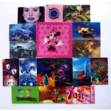 2015 etiqueta engomada colorida de la historieta 3D para la decoración