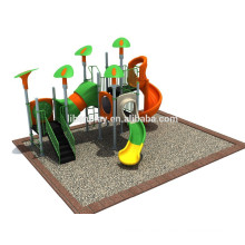 Profesional fabricante de plástico de diapositivas para niños juego al aire libre Set
