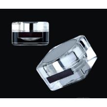 Jy221 50g квадратных ПММА косметические Jar