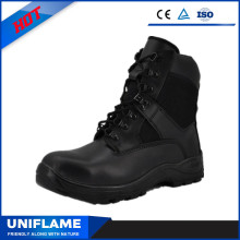 Anti Riot Black Famous Brand Tactical Safety Boot Ufd001