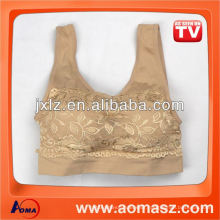 lace sports bra with pads
