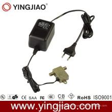 A CC da CA 15W obstrui dentro o adaptador do poder de CATV com CE