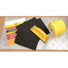 Décoration de ponçage Rolls courroie de ponçage / sable rouleau de papier de bricolage