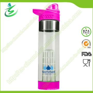 24oz Infuser Water Bottle for 2015 Tritan New Material