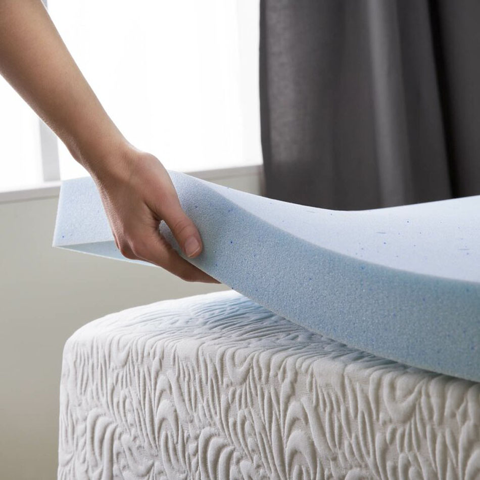 Memory Foam Mattress Topper Points Up Or Down