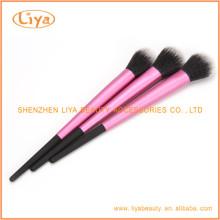Nylon Haare Make-up Pinsel Set mit Aluminium Endhülse