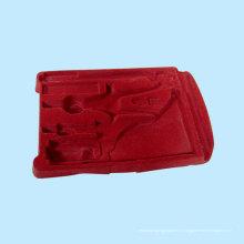 Красный флокирующий блистер для школьных принадлежностей