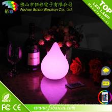PE Material Romantic Hotel Bedside Lamp