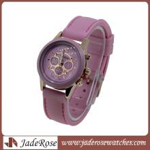 2016hot мода Multi Цвет ремешок Кварцевые дамы силиконовые часы