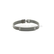Aço inoxidável 8mm mush banda relógio com fibra de carbono sobre as vendas