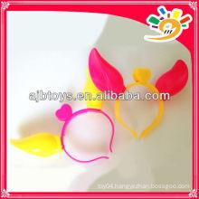Plastic flashing hairclips,design colors hairclips,fashion hairclip
