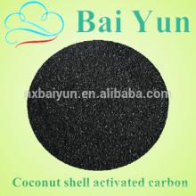 Precio activado del carbón activado del coco de la malla 5 * 12 del valor de 980 yodo / carbón activado granular