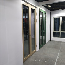 Aluminium Swing Doors Double Glazed Glass  Tempered Awning and Sliding Aluminium Casement Window