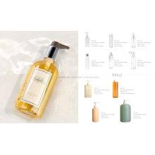 Luxury Hotel Bath Gel, Conditioner Shampoo and Body Lotion Bottle