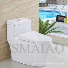 Baño de plomero de baños sanitarios Baño de una pieza de Siphonic (8104)