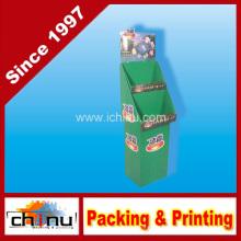 Waschen Pulverpapier Wellpappe Paletten Display (6215)