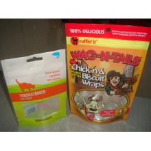 Export Schöne Bedruckte Tierfutter Verpackung Taschen mit Reißverschluss