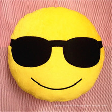 seat emoji cushions auto home decoration plush stuffed emoji pillow