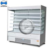 equipamento de refrigeração de display de supermercado tipo plug-in
