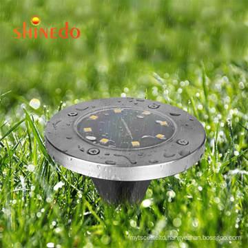 Garden Lights Solar Ground Lights LED Stainles Steel Underground Light