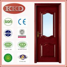 Europa entwickelt Glas eingefügt Holz Tür MD-512 für Küche