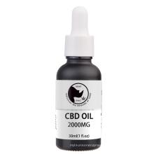 Private label 2000MG Nano CBD Oil with 22 Reishis Drops 30ML