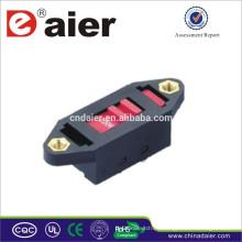 Interruptor deslizante Daier 250V XLR-05 fabricado en China Interruptor deslizante de 3 vías