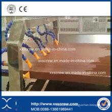Máquina de la protuberancia del perfil de WPC del plástico de madera del PVC de los PP
