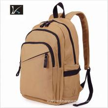 Wholesale korean brand fashion canvas school backpack ,smart kids school backpack