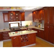 Devon Raised (Cream) Cabinet de cuisine en bois massif