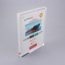 Peso de papel moderado acrílico personalizado